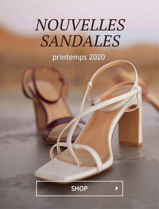 Nouvelles sandales