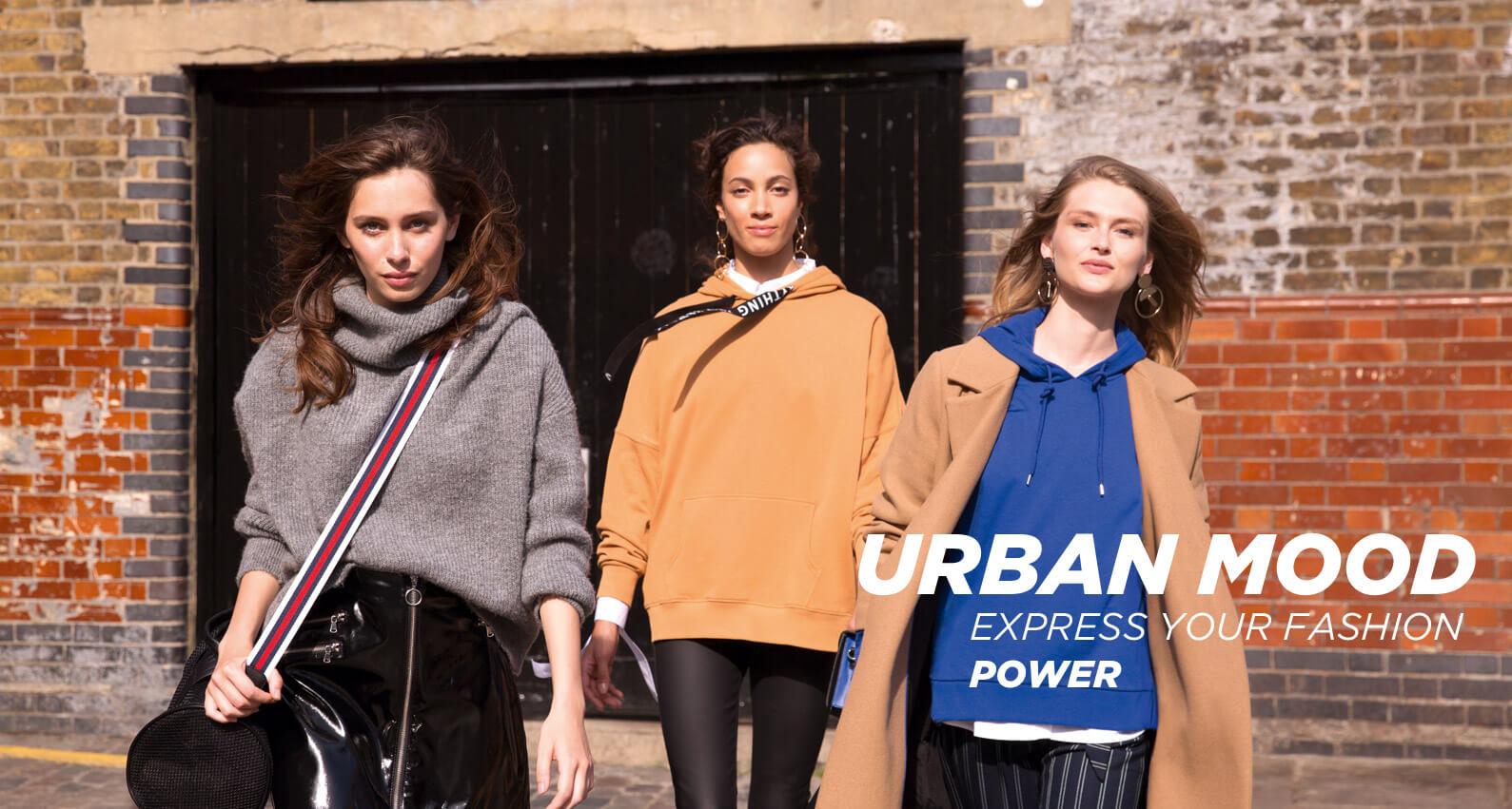 PIMKIE Urban Mood EXPRESS YOUR FASHION POWER