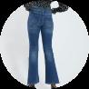 jeans denim vrouw