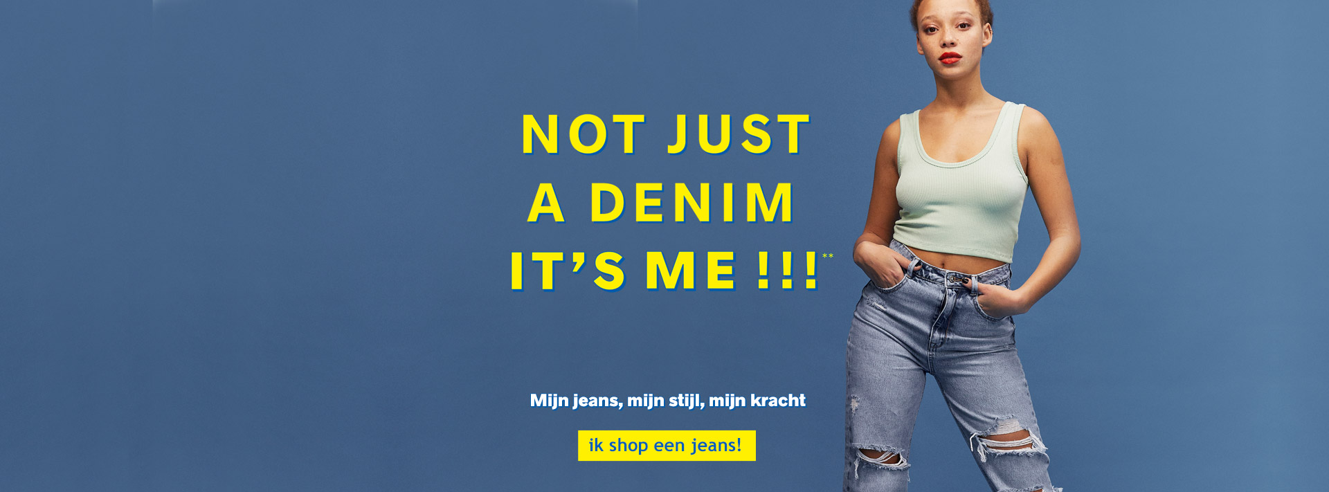 Not just a denim it's me !!!**
