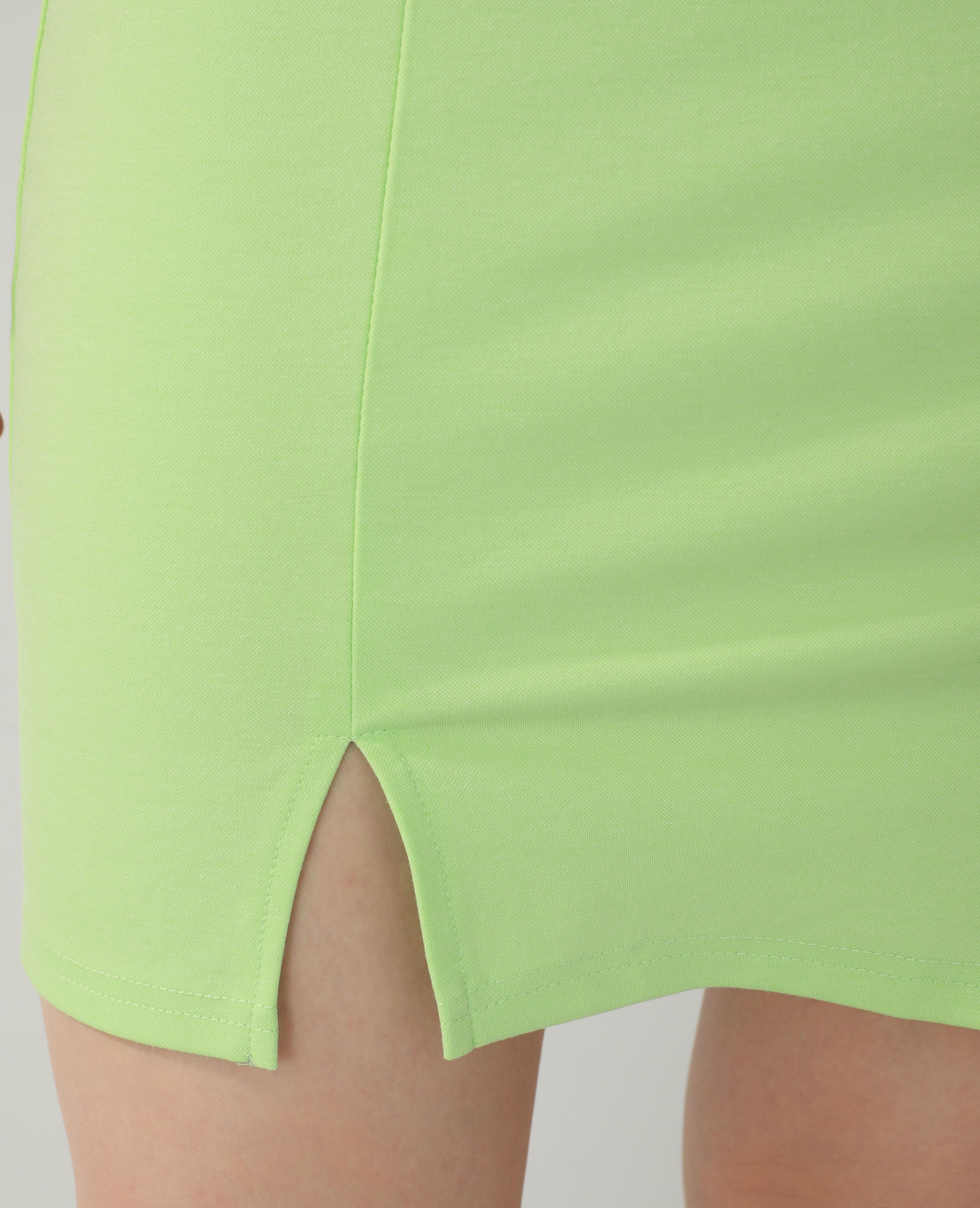 Robe fourreau vert - Pimkie