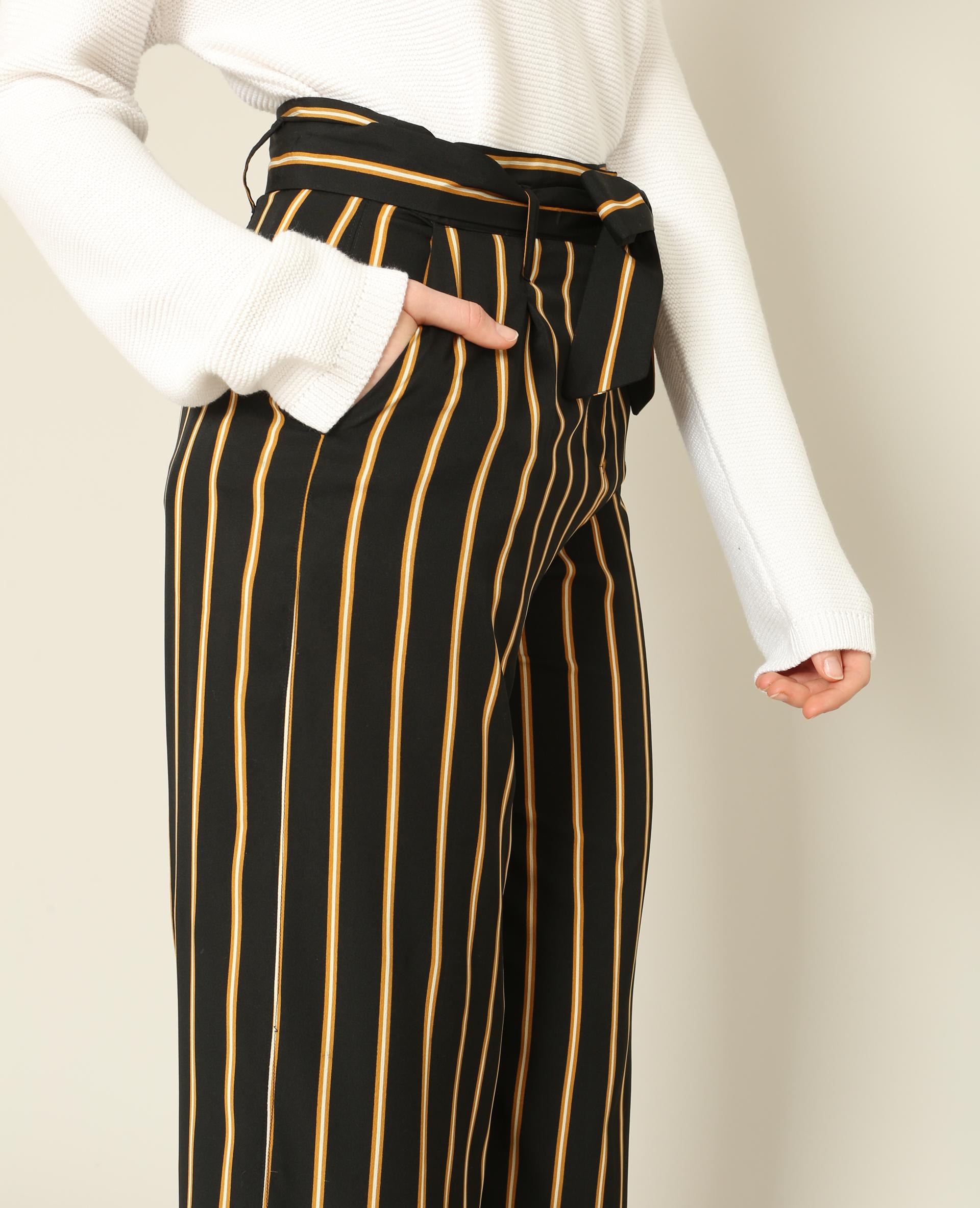 pantalon large noir 140603899c6a pimkie. Black Bedroom Furniture Sets. Home Design Ideas