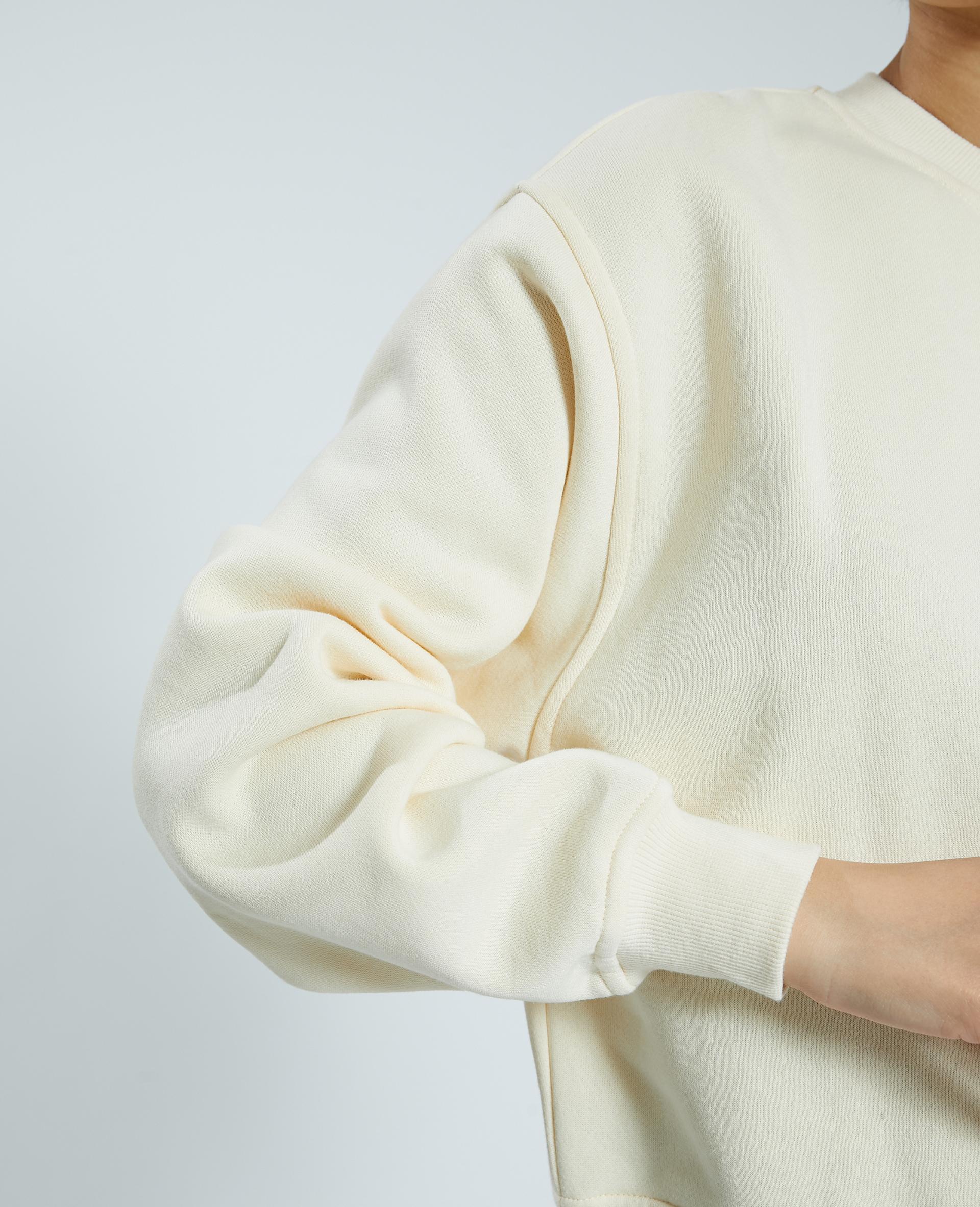 Sweat molleton blanc - Pimkie