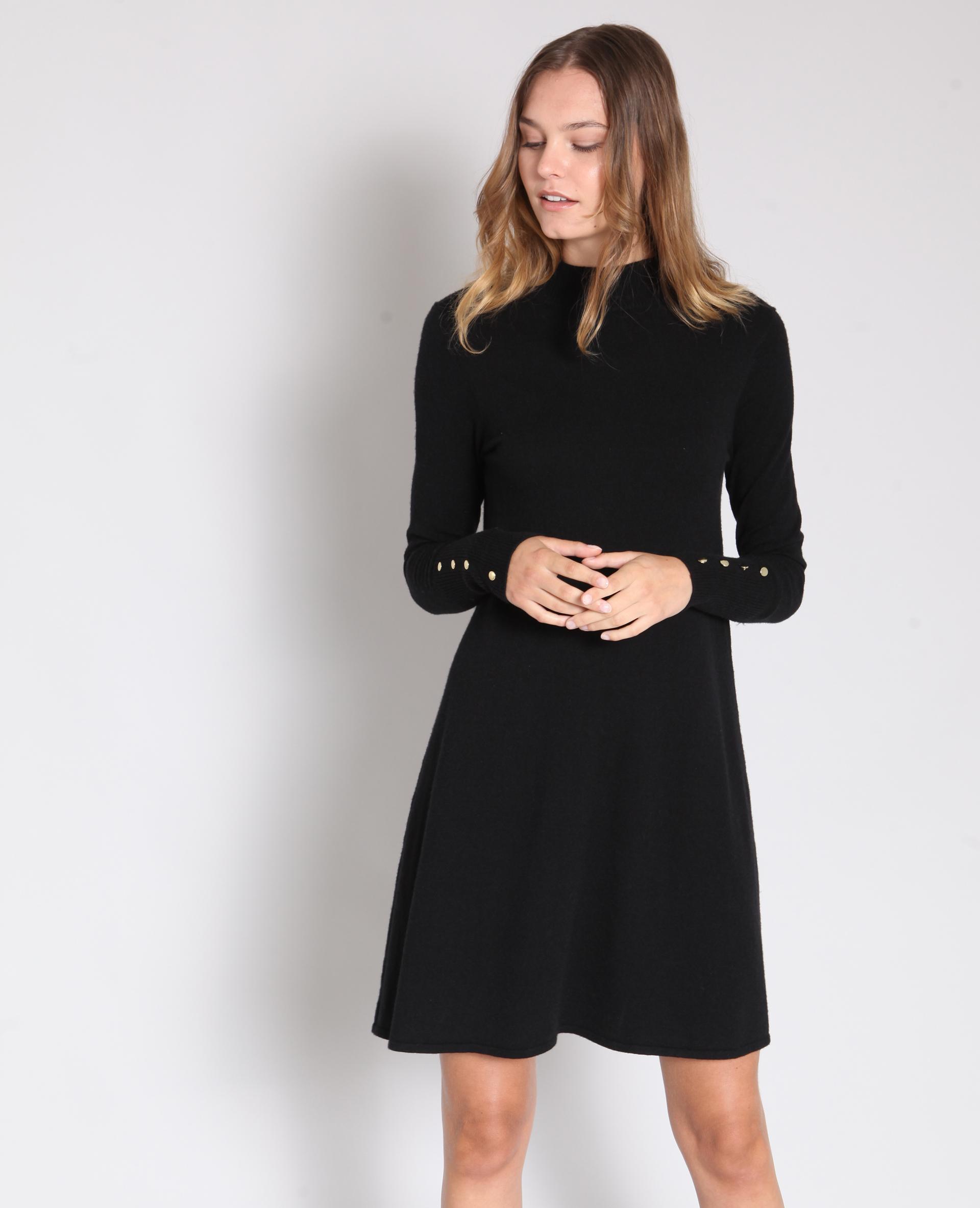 Robe pull noir 40 780902899a08 pimkie - Kleider pimkie ...