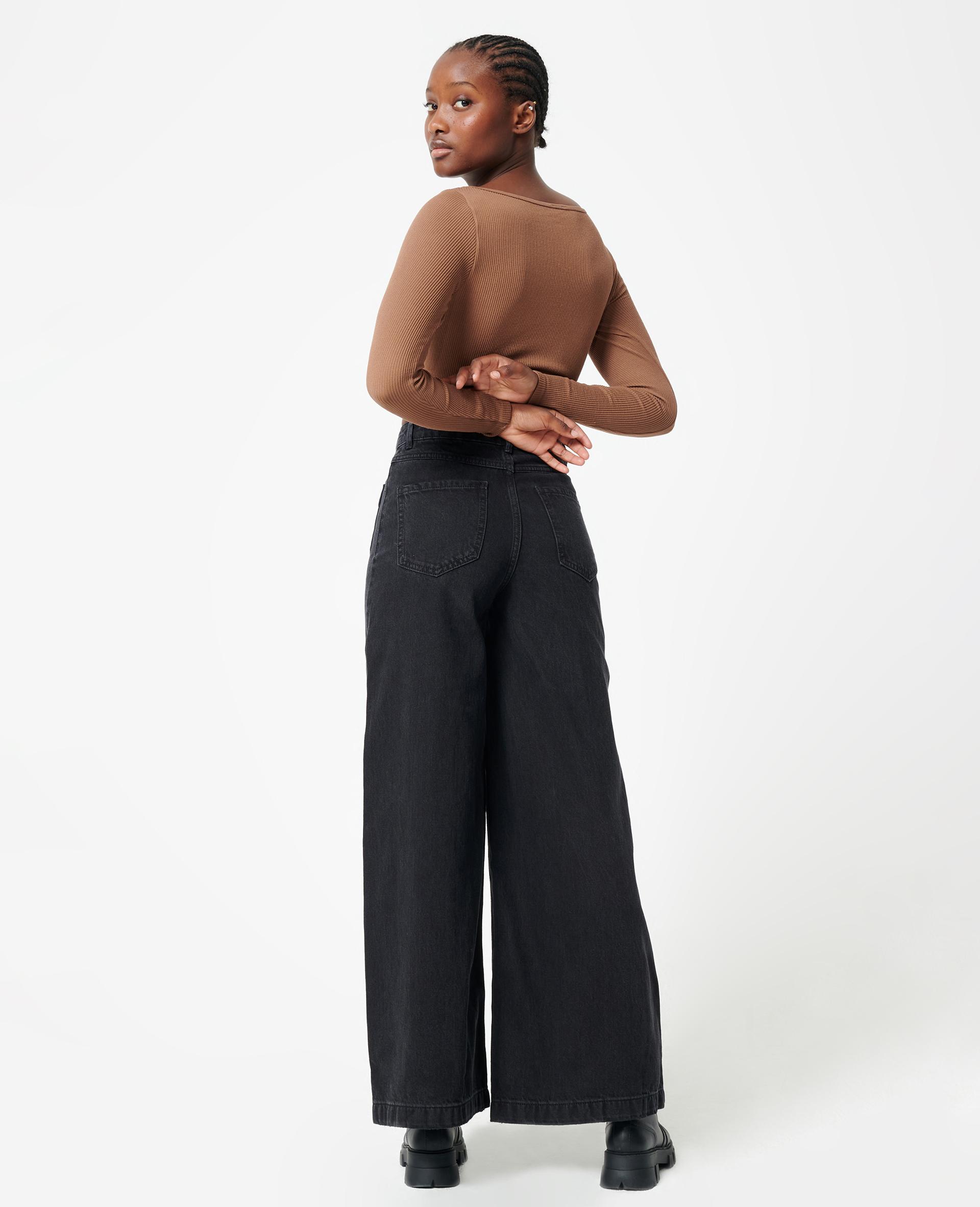 Jean baggy noir - Pimkie