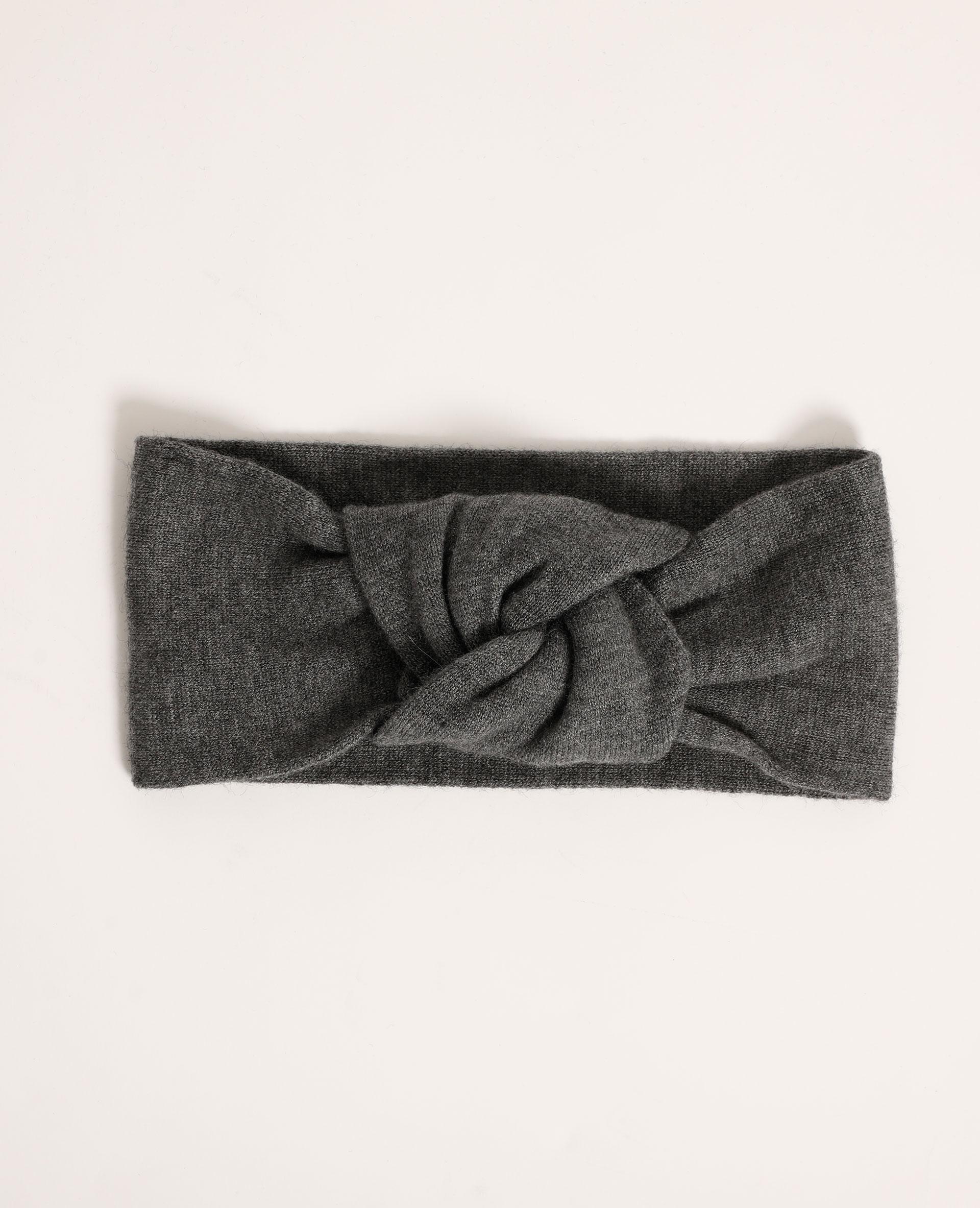 Haarband van tricot grijs - Pimkie