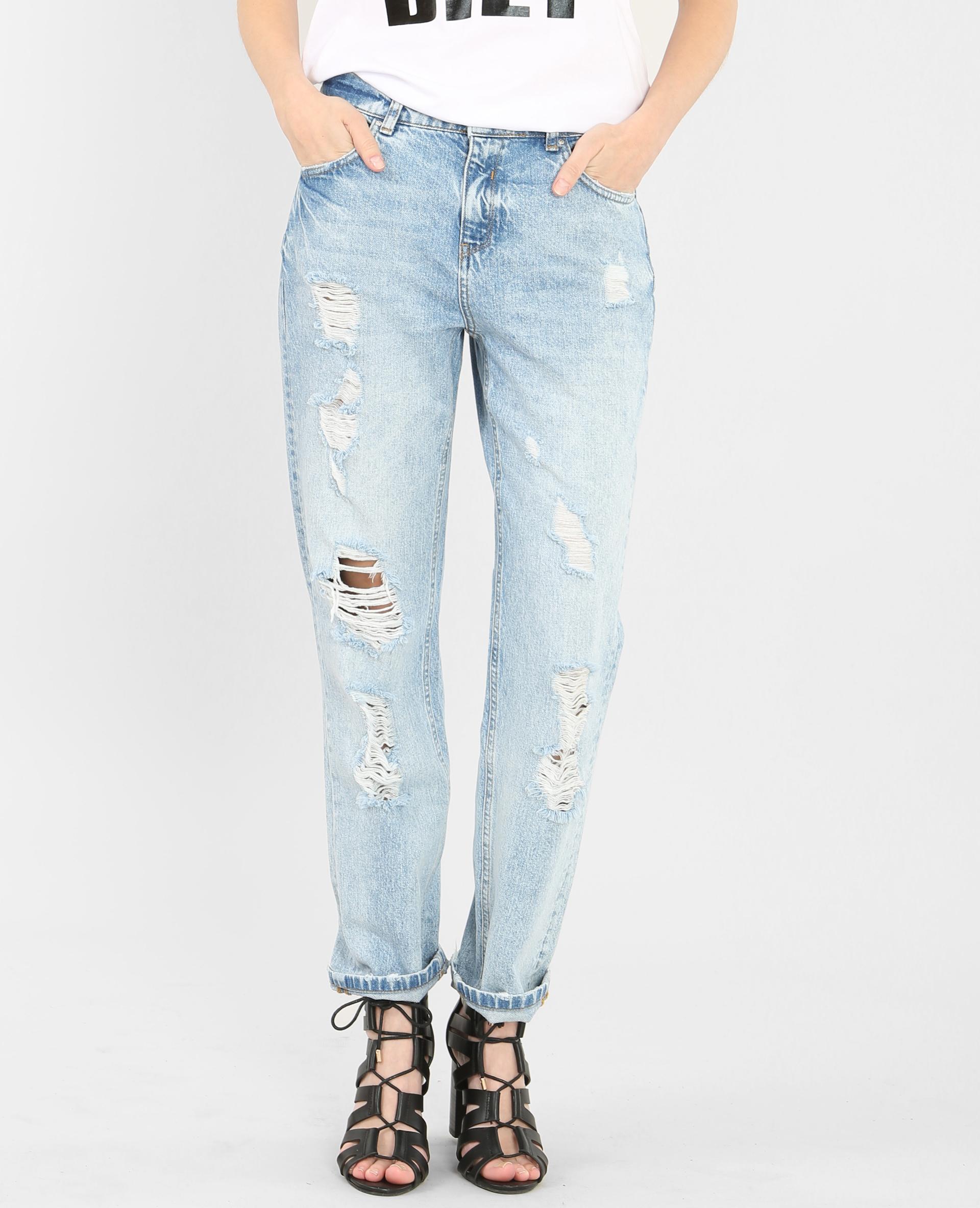 85c4e8c2eec4 Boyfit jeans blauw - 177041684A06   Pimkie