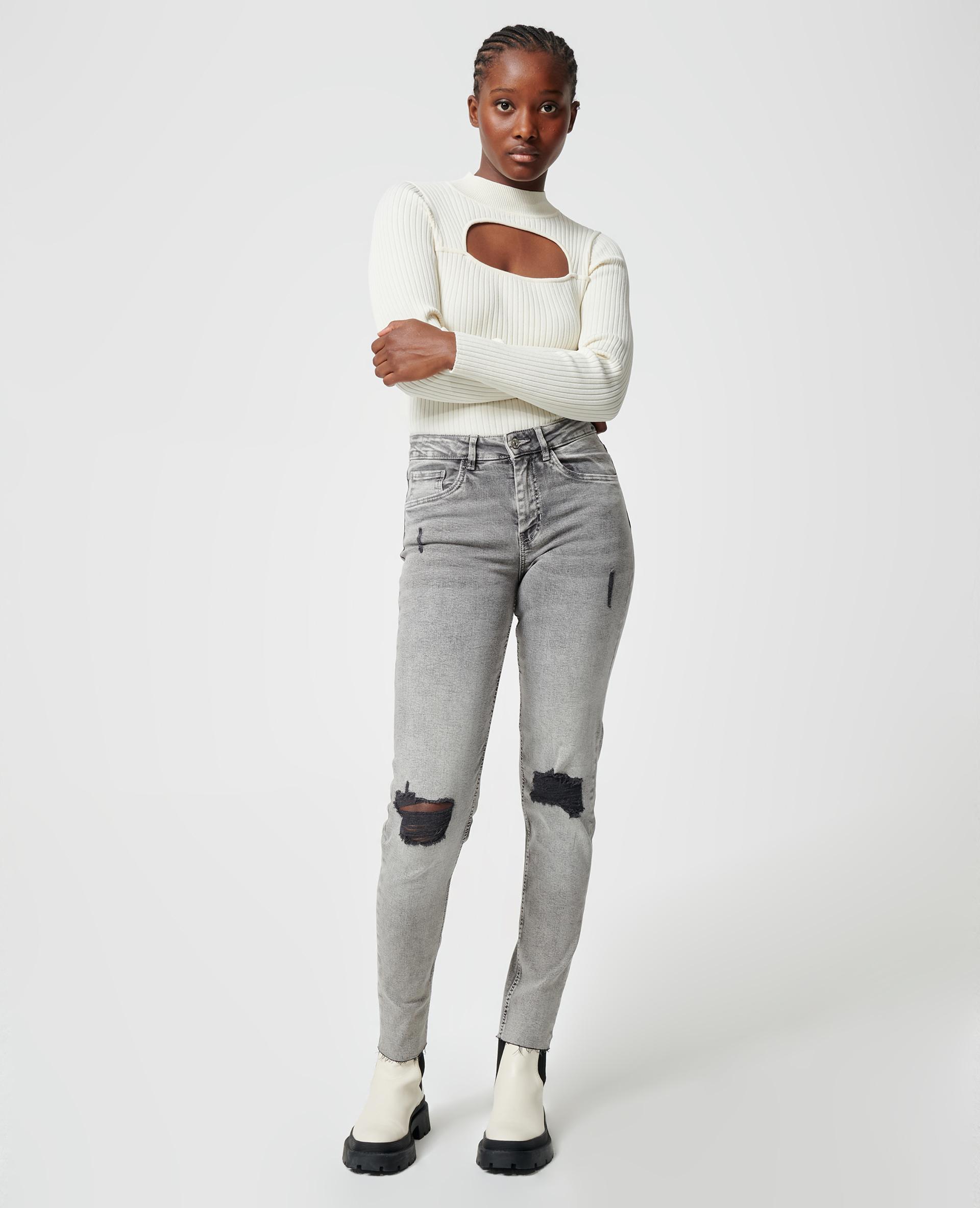 Jean skinny gris - Pimkie