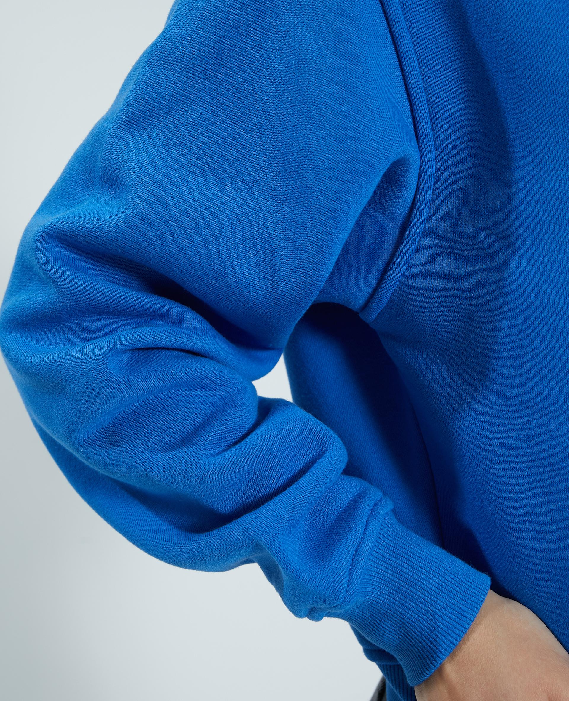 Sweat molleton Bleu - Pimkie