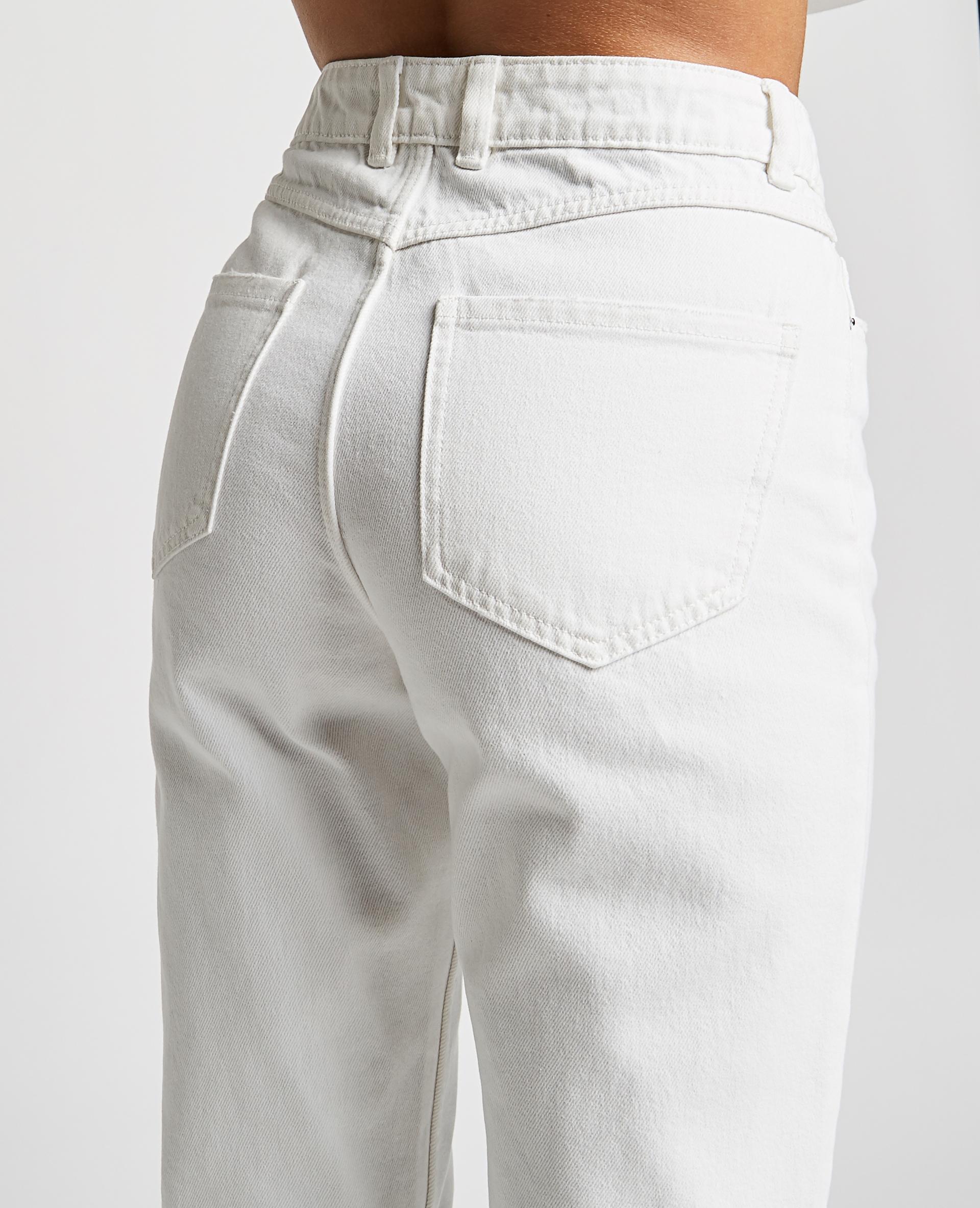 Jean taille haute blanc - Pimkie
