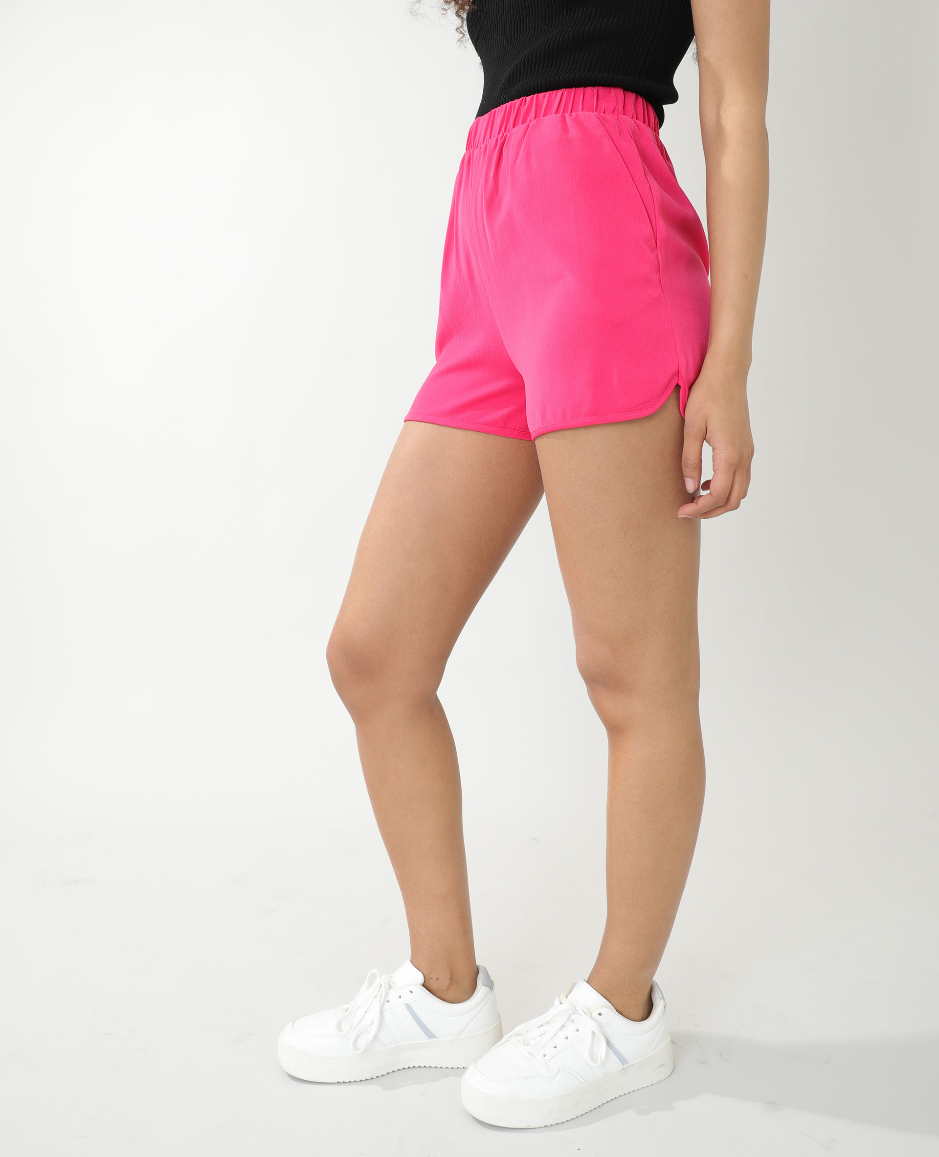 Soepele short roze - Pimkie