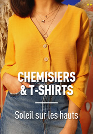 Chemisiers & t-shirts
