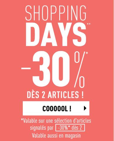 -30%* dès 2 articles !